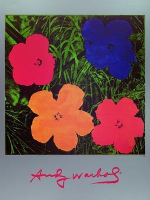 Flowers blaurotorangegelb hi